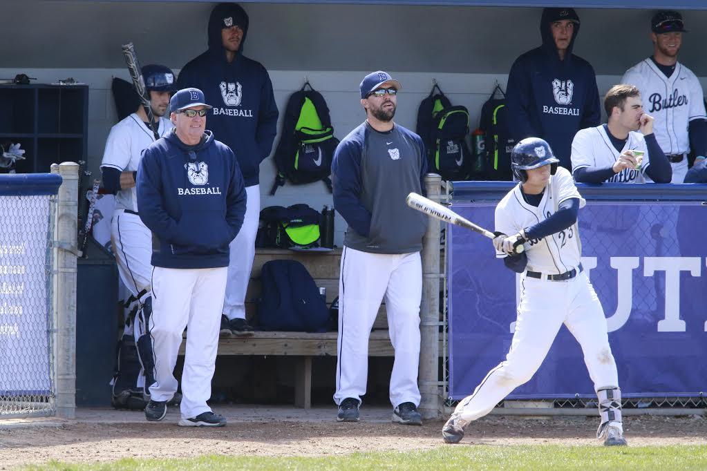 Butler University baseball versus St. Louis University March 19, 2017.