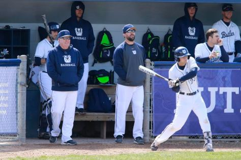Butler University baseball versus St. Louis University March 19, 2017.