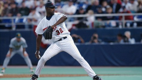LaTroy Hawkins #32 of the MinnesotaTwins